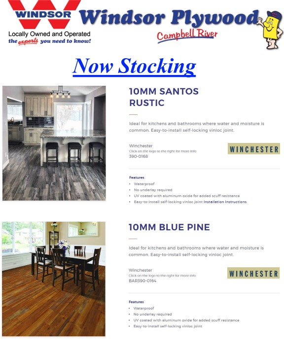 New Products Windsor Plywood Campbell River